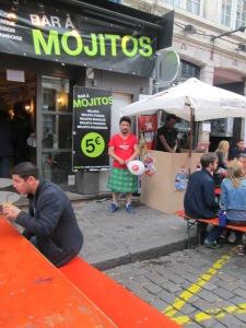 Mojitos , kilt pour les hommes une nouvelle tendance sur Lille
