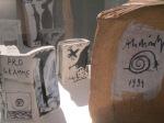 Pierre Alecheski, les Infeuilletables, petits livres en porcelaine
