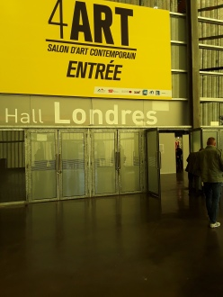 Entrée salon 4ART , Lille grand palais 2O18