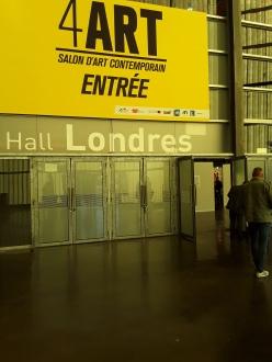 Entrée salon 4ART , Lille grand palais 2O18