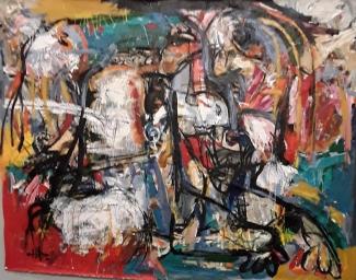 Harouna Ouedraogo,artiste burkinabé , salon 4art Lille 2O18
